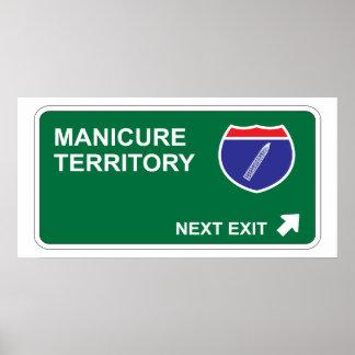 Manicure Next Exit Poster