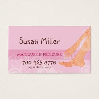 Manicure & Pedicure Business Card