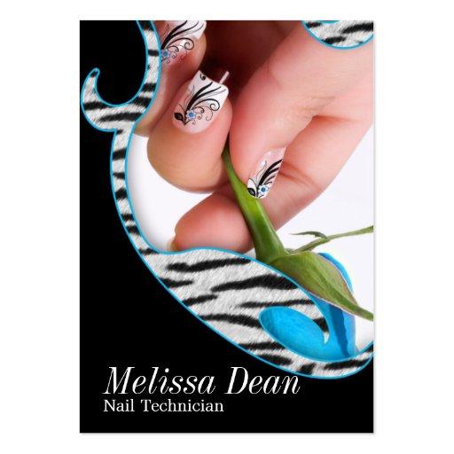 Manicure Pedicure Salon Technician Business Card
