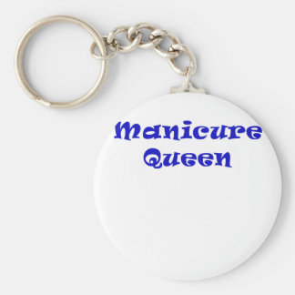 Manicure Queen Keychain