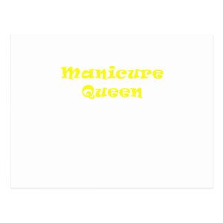 Manicure Queen Postcard