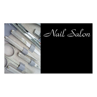Manicure set Double-Sided standard business cards (Pack of 100)