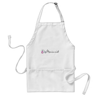 Manicurist 2 adult apron