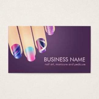 Manicurist and Pedicurist Business Card