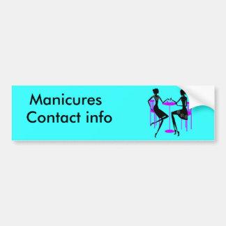 Manicurist Bumper Sticker