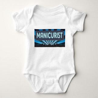 Manicurist Marquee Baby Bodysuit