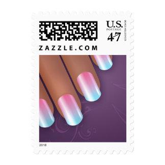 Manicurist Postage Stamp