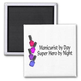 Manicurist Super Hero Refrigerator Magnet