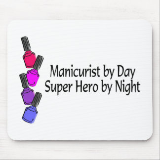 Manicurist Super Hero Mouse Pad