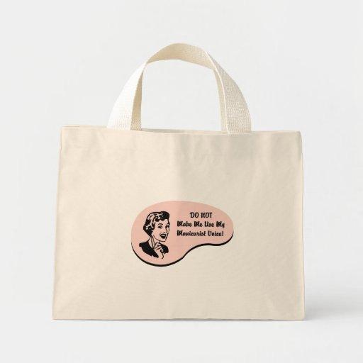 Manicurist Voice Mini Tote Bag