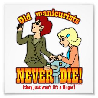 Manicurists Photo Print