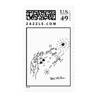 Manifest, Focus, Vibrations Postage Stamps