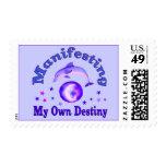Manifest Own Destiny Postage Stamps