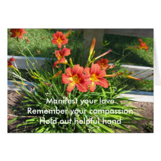 Manifest Your Love Greeting Card