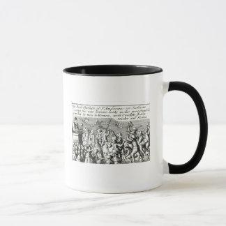 Manifestantes en Edimburgo, 1637 Taza