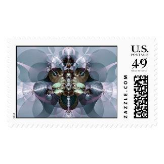 manifestation: spirit walking postage stamp