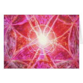 Manifesting Mandalasm Healing Stationery Note Card