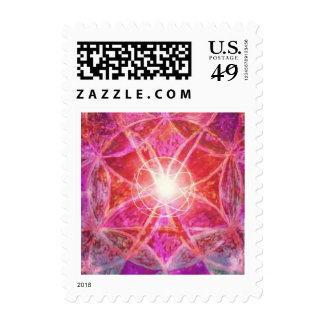 Manifesting Mandalasm Healing Postage Stamp
