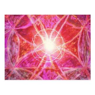 Manifesting Mandalasm Healing Postcard
