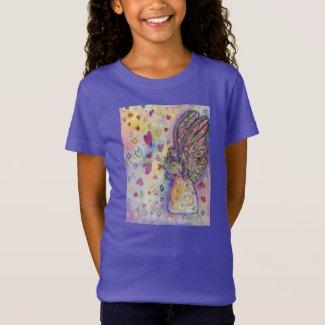 Manifesting Universe Angel Art Child T-Shirts