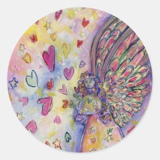 Manifesting Universe Angel Art Decal Stickers