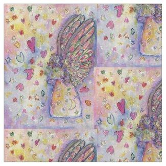 Manifesting Universe Angel Art Fabric Material