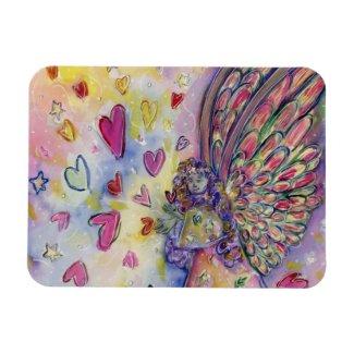 Manifesting Universe Angel Art Fridge Magnet