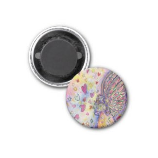 Manifesting Universe Angel Art Fridge Magnets