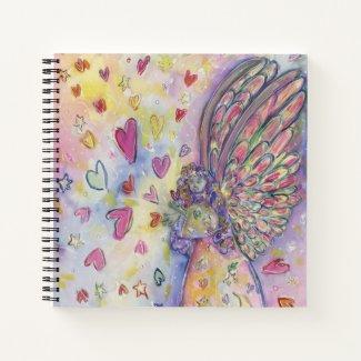 Manifesting Universe Angel Art Journal Notebook