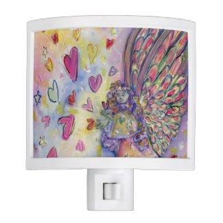 Manifesting Universe Angel Art Night Light Lamps
