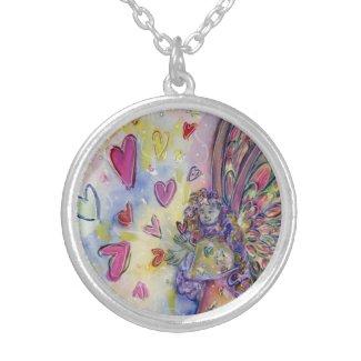 Manifesting Universe Angel Art Pendant Necklace