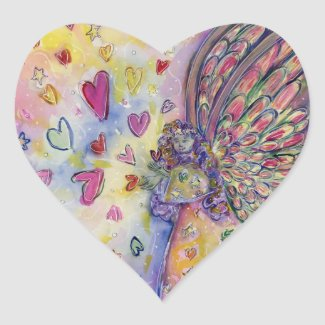 Manifesting Universe Angel Art Sticker Decal