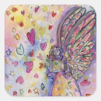 Manifesting Universe Angel Art Sticker Decals