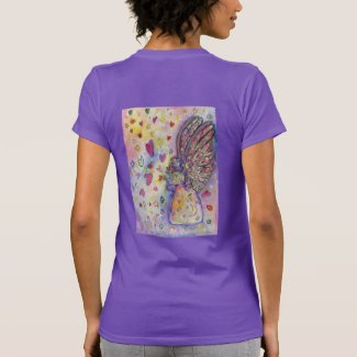 Manifesting Universe Angel Art Women's T-Shirts
