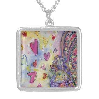 Manifesting Universe Angel Charm Jewelry Necklace
