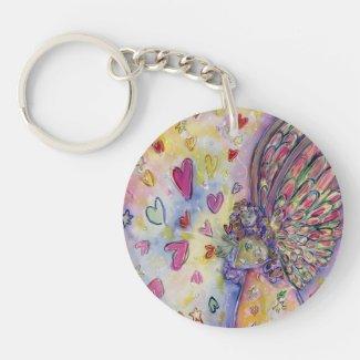 Manifesting Universe Angel Custom Art Keychains