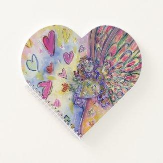 Manifesting Universe Angel Heart Journal Notebook