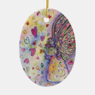 Manifesting Universe Angel Holiday Gift Ornaments