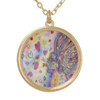Manifesting Universe Angel Jewelry Charm Necklaces