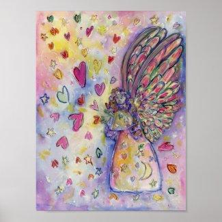 Manifesting Universe Angel Poster Art Prints
