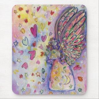 Manifesting Universe Guardian Angel Art Mousepad