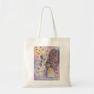 Manifesting Universe Guardian Angel Art Tote Bag