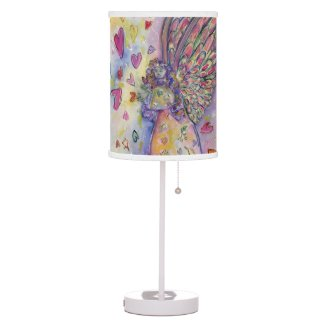 Manifesting Universe Guardian Angel Table Lamps