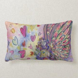 Manifesting Universe Guardian Angel Throw Pillows