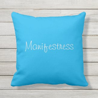 Manifestress Outdoor Pillow