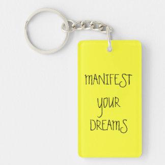 Manifieste su llavero de los deseos