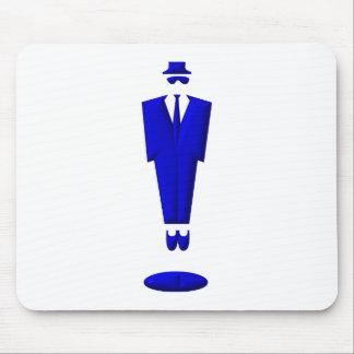 manikin / suit / man mouse pad
