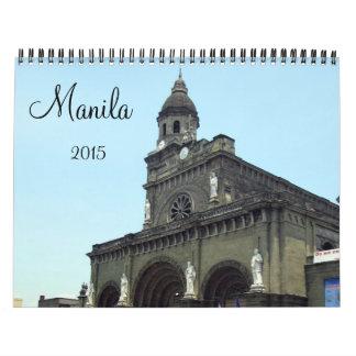 Manila 2015 calendarios