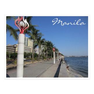 manila boardwalk postcard