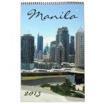 manila calendar 2013